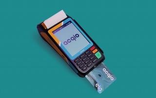 Máquina de cartão Acqio S920
