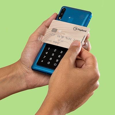 PagPhone recebendo cartao via NFC