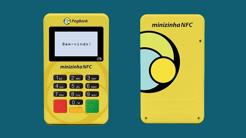 Minizinha NFC frente e verso