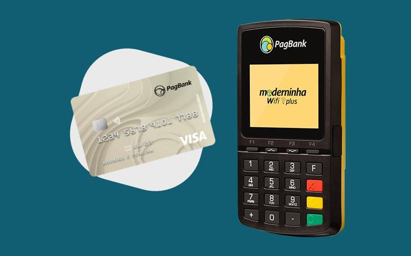 Moderninhas Wifi Plus e cartão PagBank