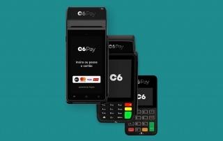 Maquininhas de cartão C6 Pay