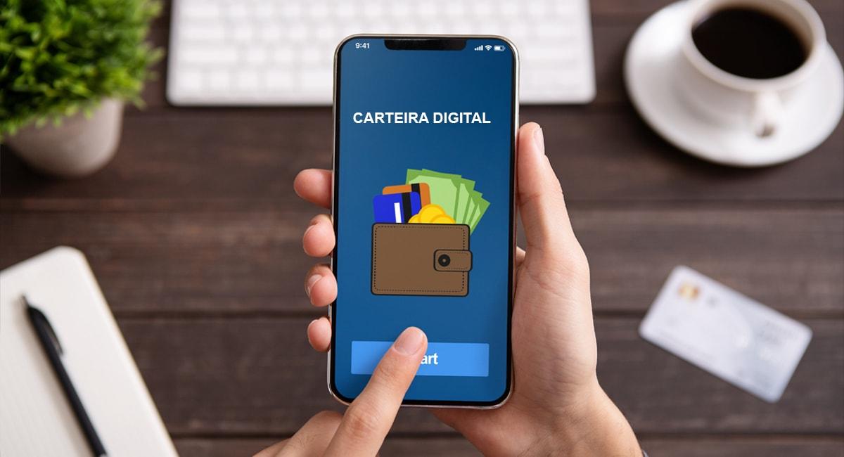Carteira digital no celular