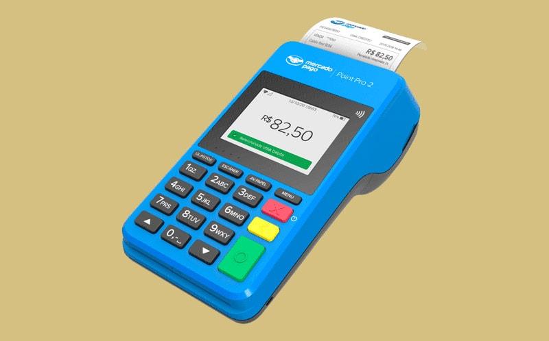 Mercado Pago Point Pro 2 imprimindo recibo