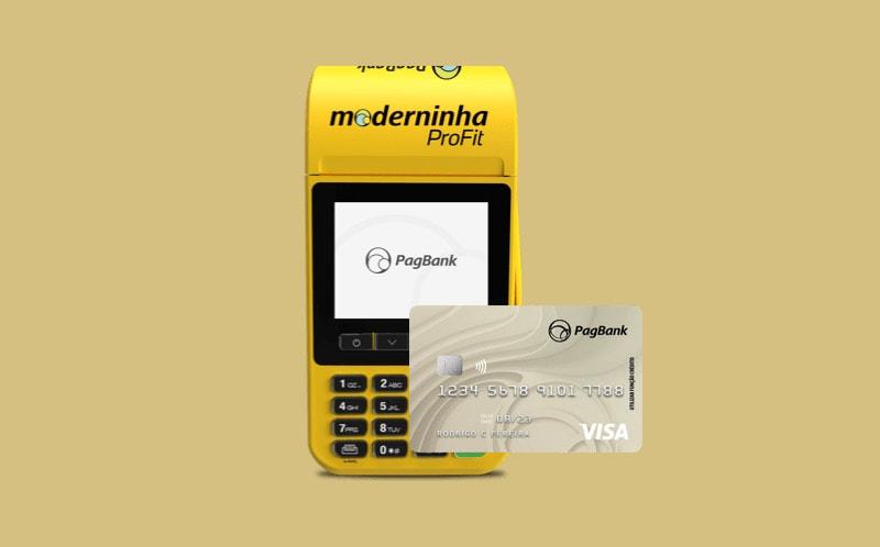 Moderninha ProFit e cartão PagBank