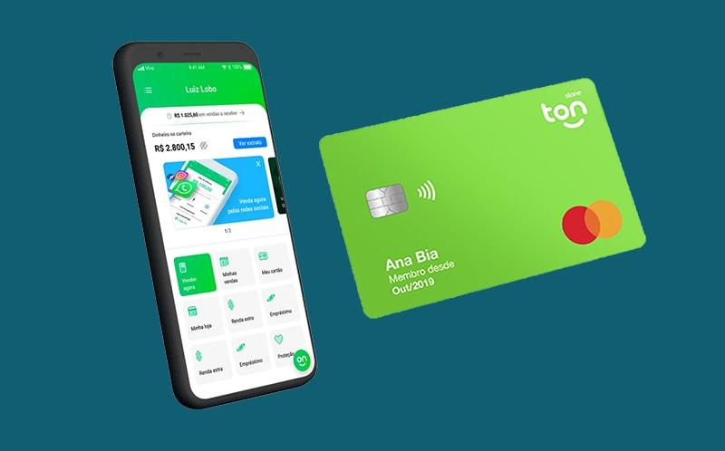 App e cartão pré-pago Ton