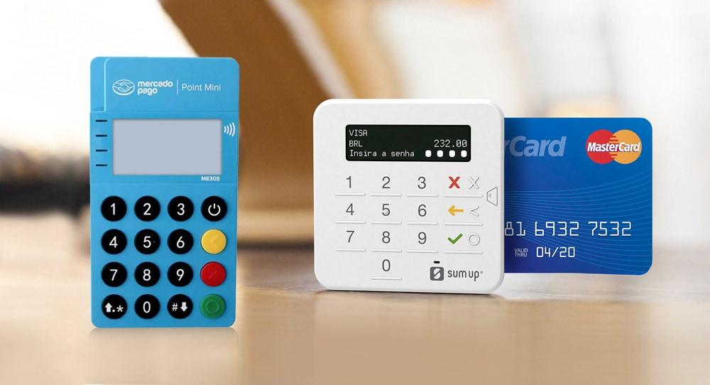 Mercado Pago Point Mini com NFC ou SumUp Top